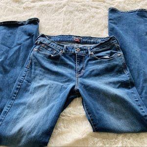 Levi's Denizen Size 10L modern bootcut jeans